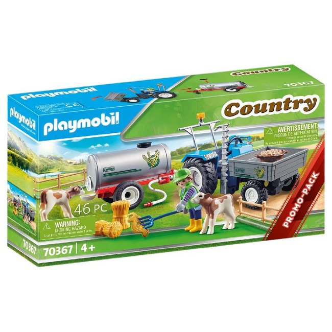 Playmobil 70367 Country Boerderij Tractor met Watertank