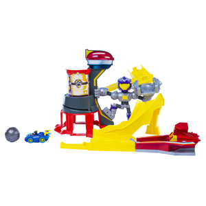 Paw Patrol Mighty Pups Charged Up Mighty Meteor Track Set + Voertuig