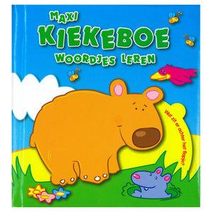 Boek Maxi Kiekeboe Woordjes Leren